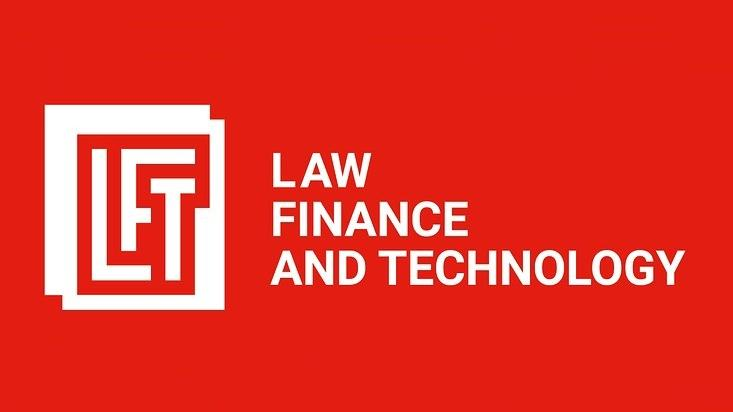 "Logo ""Law, Finance and Technology"""