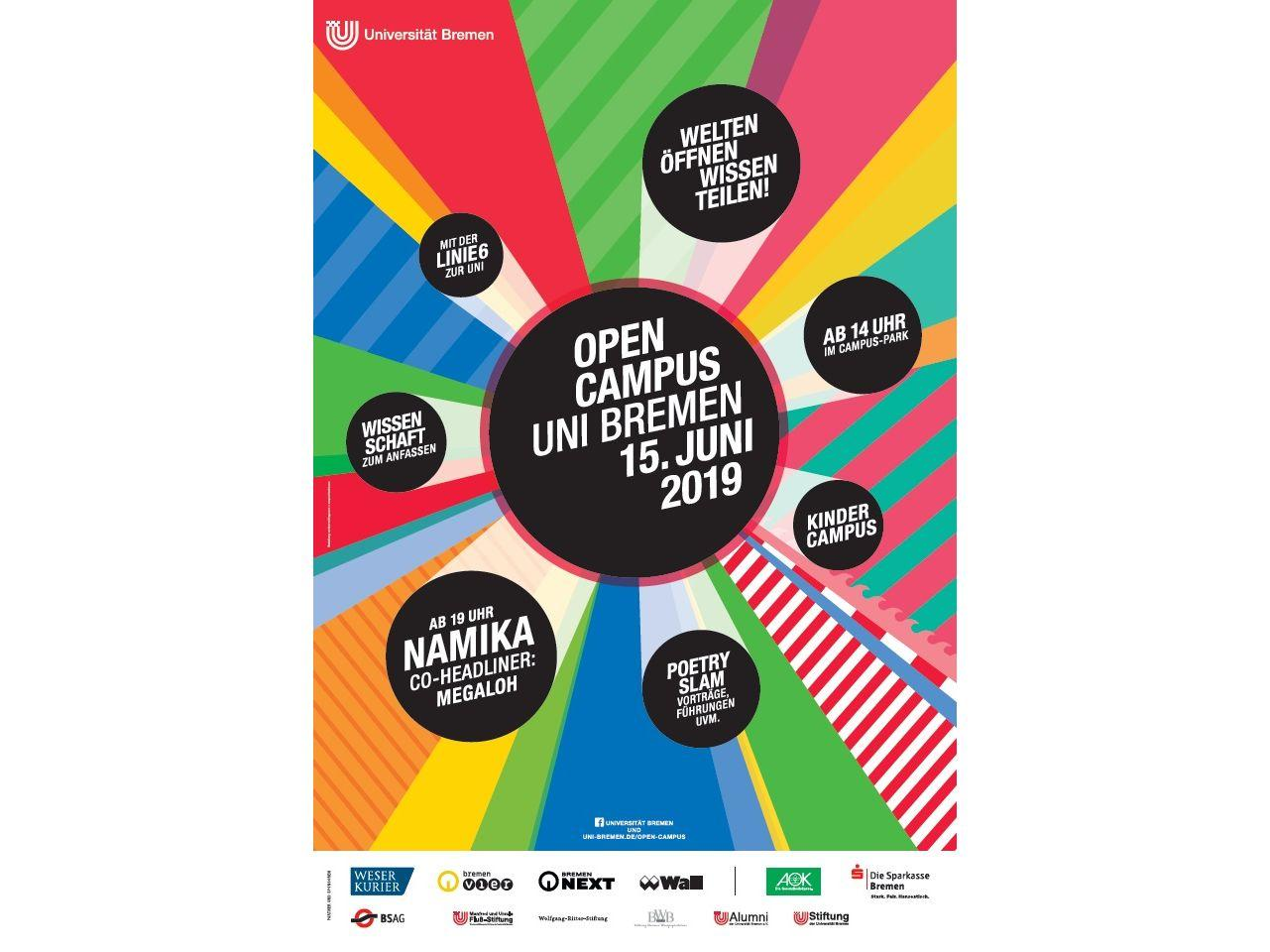 Plakat des Open Campus 2019