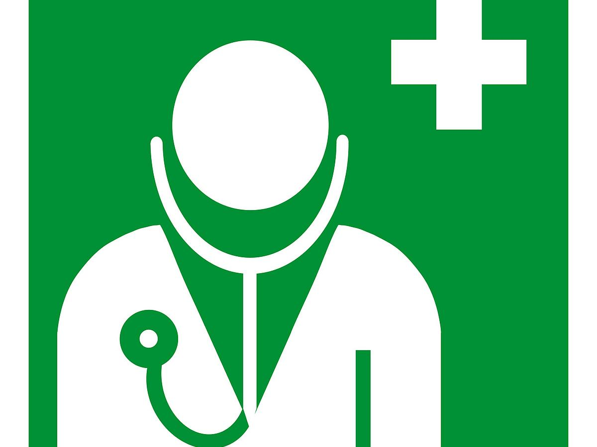 The logo of the company doctor