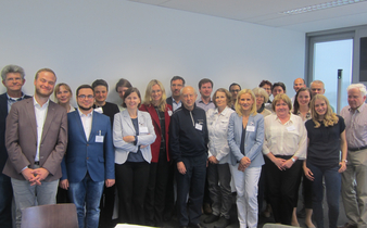 Participants of the Research Consortium Conference in Berlin - Group Photo