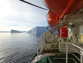 Auf der Polarstern-Expedition PS 104