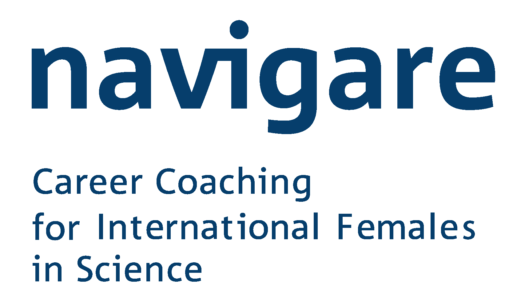 Logo navigare: Career Coaching for International Females in Science