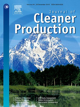 Cover Journal of Cleaner Production