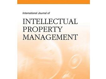International Journal of Intellectual Property Management