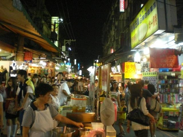 Taipeh by night, Taiwan