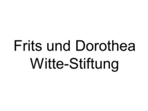 Frits und Dorothea Witte-Stiftung