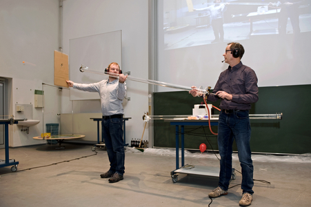 Physikshow im Advent