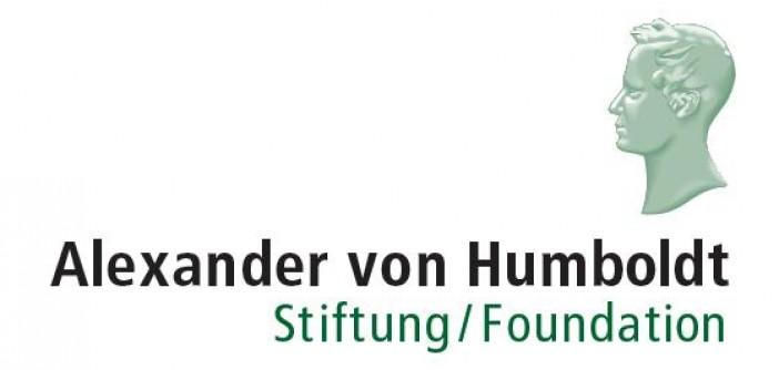 [Translate to English:] Alexander von Humboldt Stiftung - Logo