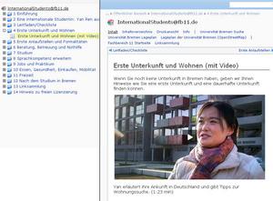 ausländische Video-Websites