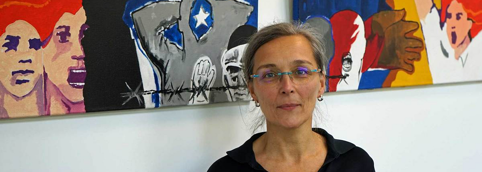 Sigrid Dauks is the head of the university archive and voluntary spokesperson of the XENOS association.