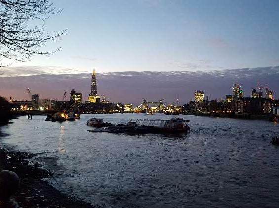 London, Abendpanorama