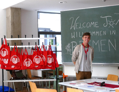 Welcome Desk for exchange students