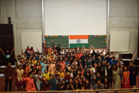 Studierende der Indian Student Association