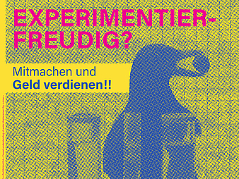 Poster: Experimentierfreudig