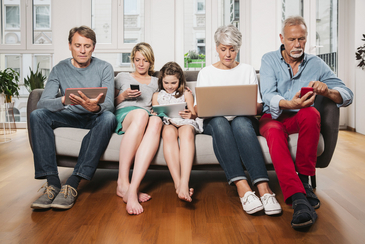 People from different generations use media