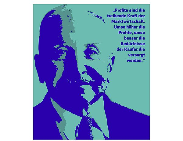 [Translate to English:] Picture from Ludwig von Mises