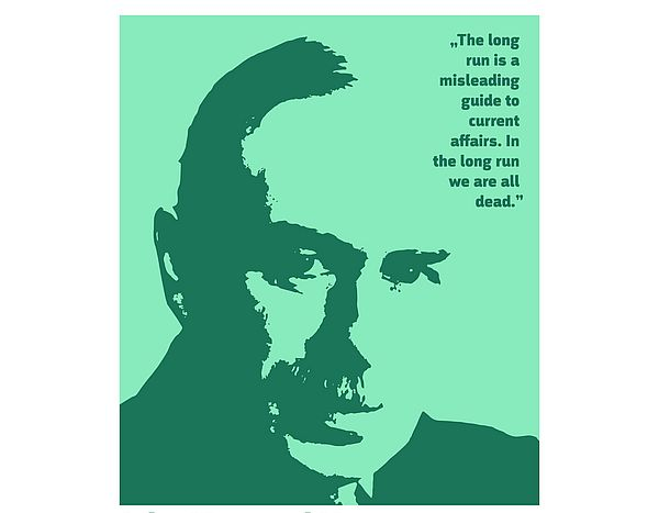 [Translate to English:] Picture from John Maynard Keynes