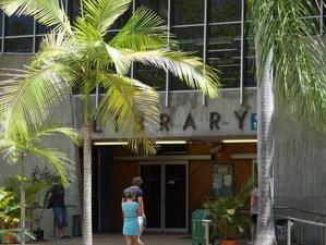 James Cook University, Library entrance