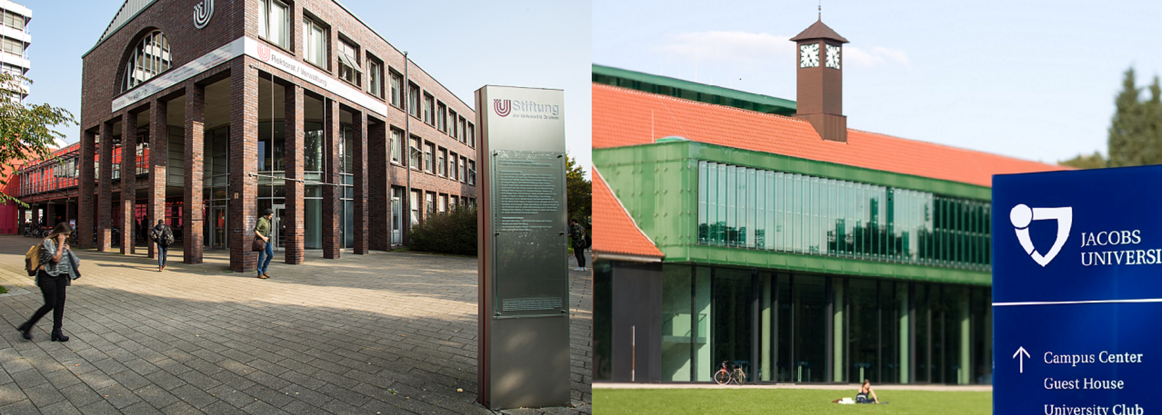Buildings: University of Bremen and Jacobs University Bremen