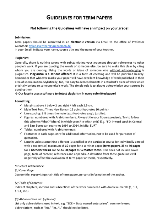 deckblatt dissertation uni bremen