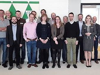 Group photo at the first meeting of our network in Amsterdam, April 2017