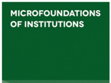 Bookcover Microfoundations of Institutions