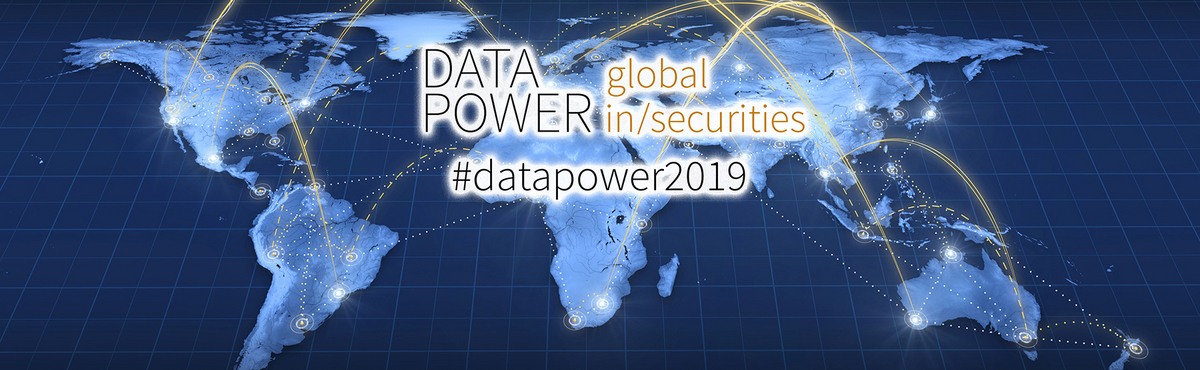DATA POWER header image showing map of the world and connections