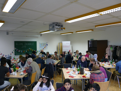 Welcome Breakfast by Senior Citizens