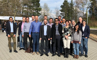 Group photo of our workshop in Lausanne