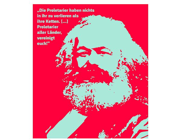 [Translate to English:] Picture from Karl Marx