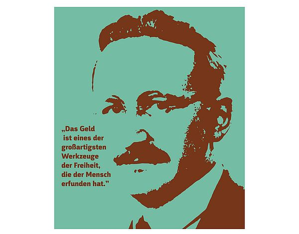 [Translate to English:] Picture from Friedrich August von Hayek