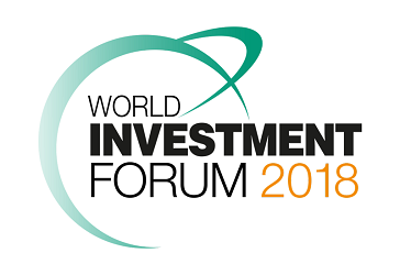 Text lautet World Investment Forum 2018