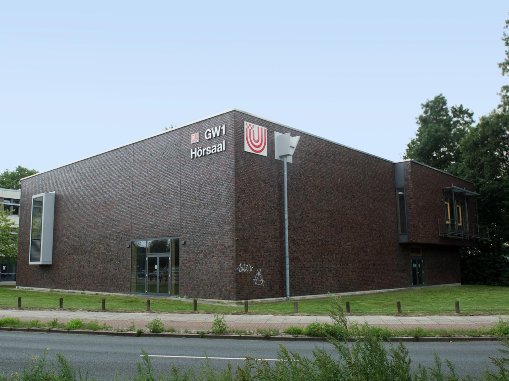 Geisteswissenschaften 1, Hörsaalgebäude