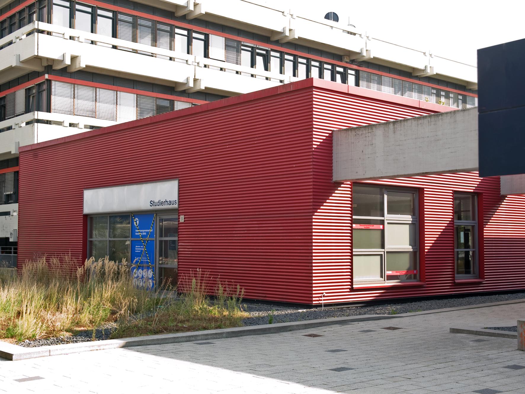 Studierhaus (Zentralbereich D, Boulevard)
