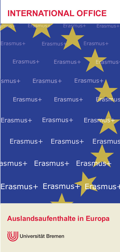 International Office Erasmus Flyer