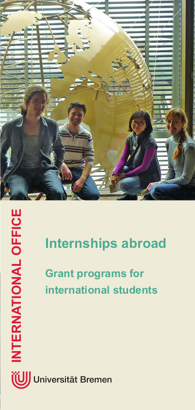 International Office Internships Flyer